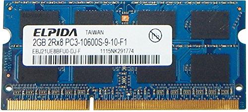 Elpida 2GB DDR3 PC3-10600 SDRAM SO-DIMM Memory by .Elpida.