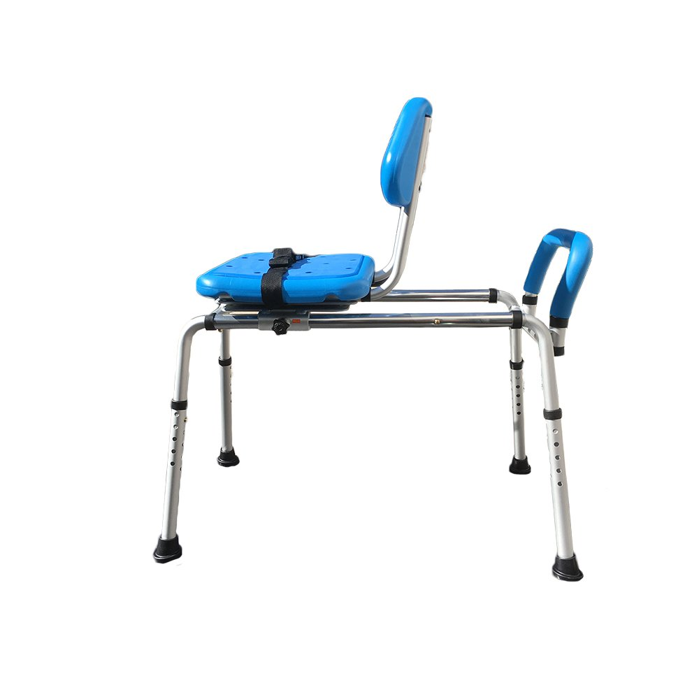 Gateway Premium Sliding Bath Transfer Bench with Swivel Seat-PADDED by Platinum Health (Image #3)