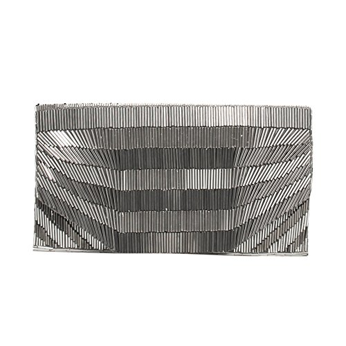 Silvered Parfois Clutch Parfois Electric Party Electric Women Ygqanxnw