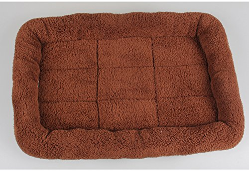 C HUAIX HOME Cat tatami mats pet nest car anti-scratch sofa cushion large medium and small size Shu cotton cashmere (Size   C)
