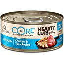 Wellness Core® Hearty Cuts Natural Canned Grain Free Wet Cat Food, Chicken & Tuna, 5.5-Ounce Can (Pack of 24)