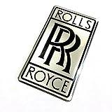rolls royce decal - Alstickers! Aluminum-polyurethane car sticker ROLLS ROYCE glossy size 2.75