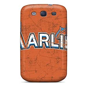 Excellent Design Miami Marlins Case Cover For Galaxy S3