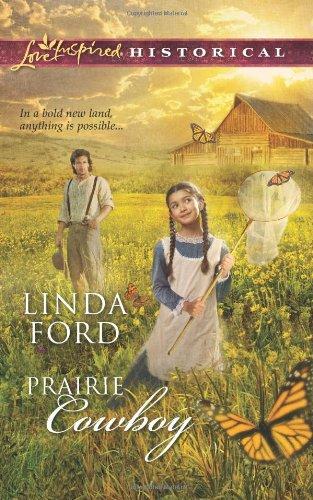 book cover of Prairie Cowboy