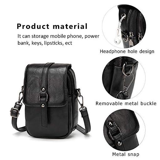 Quality Ladie Thin Flat Crossbody Purse Bag Wallet Travel Shoulder Messenger bag