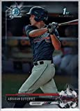 2017 Bowman Baseball Chrome Prospects #BCP78 Abrahan Gutierrez Braves