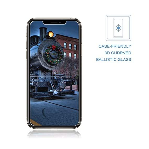3 Pack] iPhone XR Screen Protectors Loopilops Tempered Gl ... on