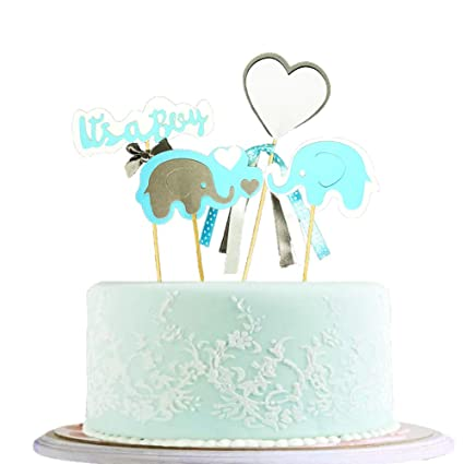 Amazing Blingbling Happy Birthday Cake Topper Packaged Handmade Blue Love Funny Birthday Cards Online Alyptdamsfinfo