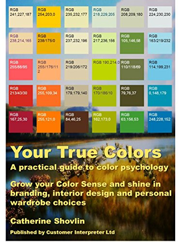 Amazoncom Your True Colors A practical guide to color psychology