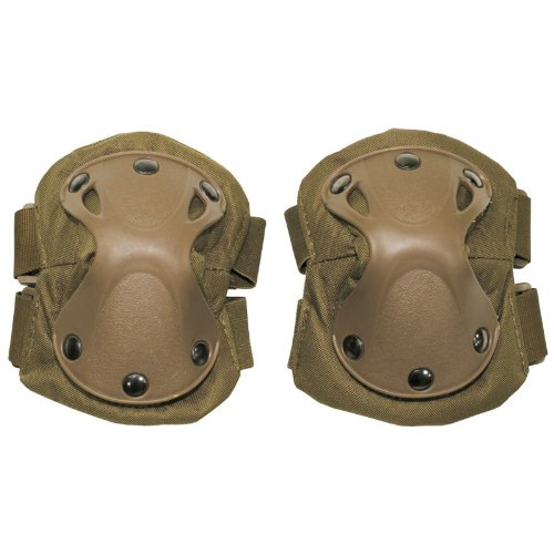 MFH Elbow Pads Defence Coyote by MFH