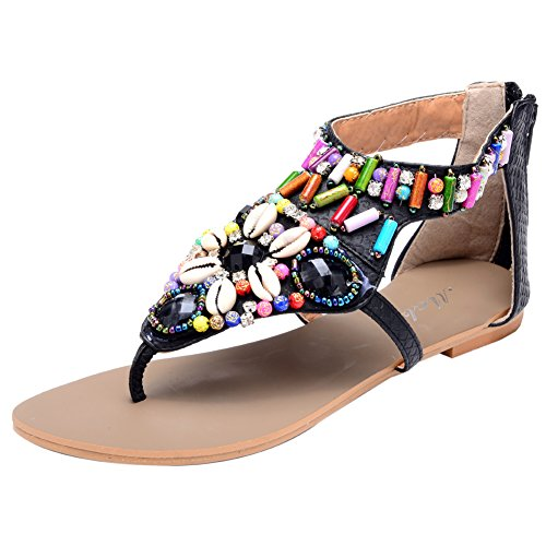 Odema Womens Bohemian BeachThong Sandals product image
