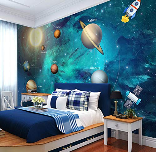 Used, Yynight 3D Wallpaper Space Universe Children Room Starry for sale  Delivered anywhere in USA