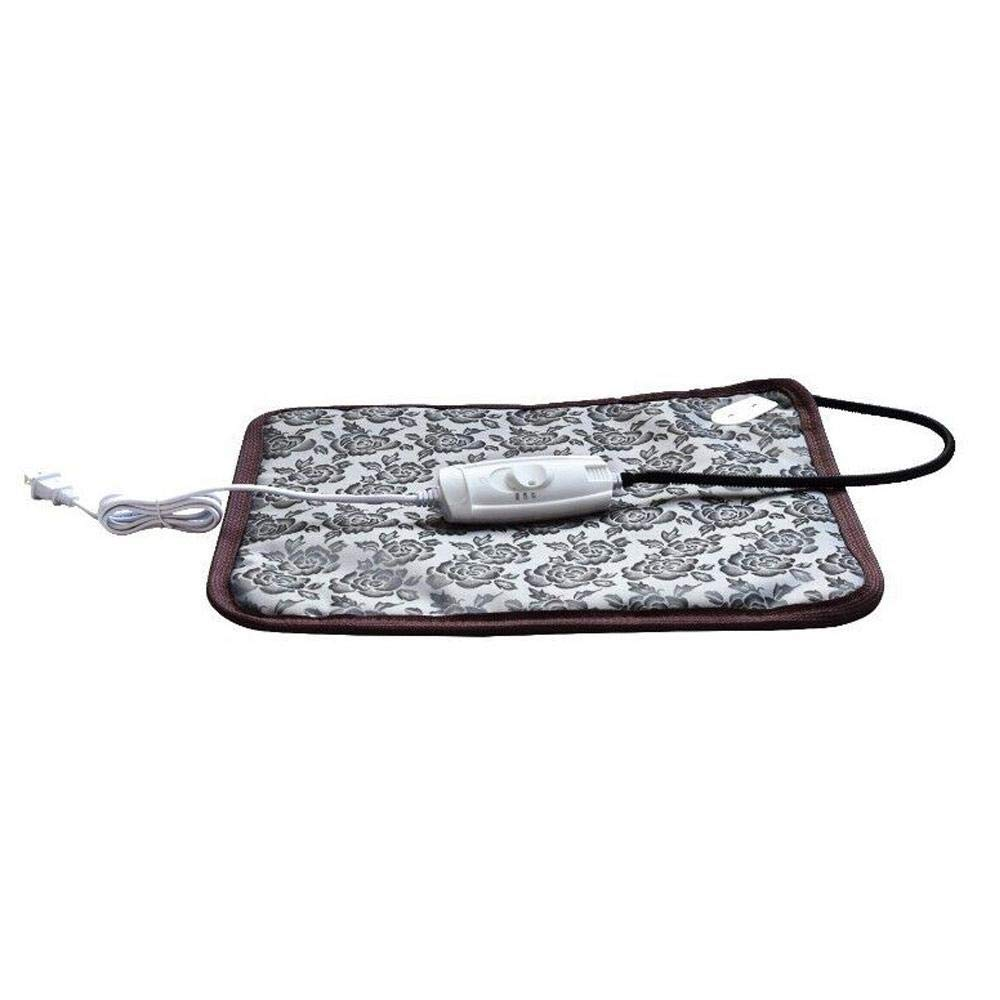 L(20.933.9 inch) Pet Heating Pad 60 W Waterproof Electric Heating Pad for Dogs and Cats Indoor Pet Bed Warmer Mat Adjustable Temperature