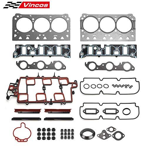 (Vincos Head Gasket Set Replacement For 97-05 Buick Chevy Oldsmobile Pontiac 3.8L VIN 1 2 K HS9917PT)