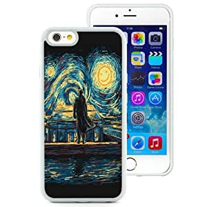 Easy Set,DIY Iphone 6 Case Design with Sherlock Starry Fall Cell Phone Case for Iphone 6th 4.7 Inch TPU in White by ruishername