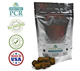 Palmyra Green Calming Soft Chews Dogs Cats - All Natural Pure Hemp Oil Extract - 30ct 5mg per chew - Great Anxiety, Tension, Arthritis Pain, Hip Joint - to Support a Happy Healthy Pet