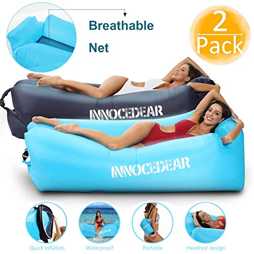INNOCEDEAR 2 Pack Inflatable