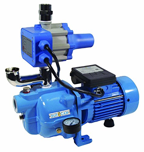 BurCam 503232S S.W. Cast Iron Jet Pump with Fluomac, 3/4 hp, 115V by Bur-Cam