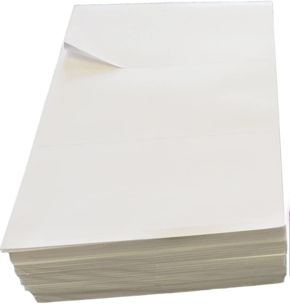 100 Sheets Plain White A4 Address Label 14 per Page