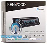 Kenwood KDC-BT33 Single Din CD Audio Receiver with