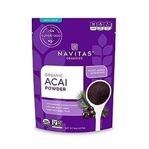 Navitas Organics Acai Powder, 8 oz. Bag
