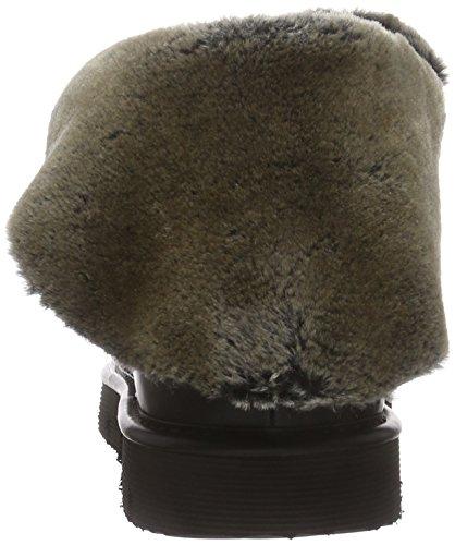 BUNKER Booty - Botas de cuero para mujer negro - negro