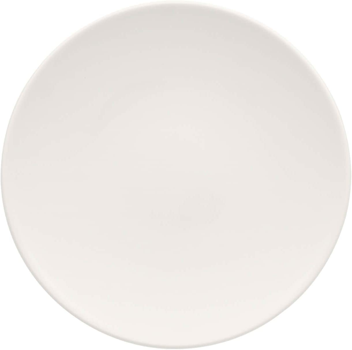 For Me Coupe Dinner Plate Set of 6 by Villeroy & Boch - Premium Porcelain - Made in Germany - Dishwasher and Microwave Safe - 11.5 Inches