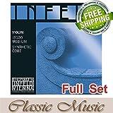Classic Music Thomastik Infeld-Blue Violin Strings Full Set 4/4 Ball End (IB100)