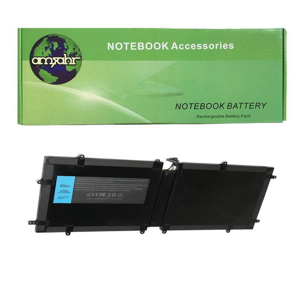 Amsahr 4DV4C-03 - Batería de reemplazo para DELL 4DV4C, XPS 1820 ...