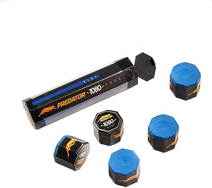 WXS Tizas de Billar, 5 Piezas de reemplazo Antideslizante Cue Tips Chalk Billiard Accesorio para Snooker: Amazon.es: Deportes y aire libre