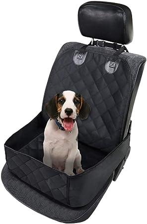 Maso Hunde Autositz Einzelnsitz Für Rückbank Ideale Hund Autositzbezug Für Haustier Hundedecke Auto Wasserdicht Abriebfest Auto