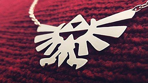 Amazon com: Triforce Necklace Hyrule Wingcrest Triforce