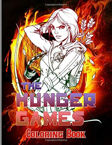 Hunger Games Coloring Book Hunger Games Color Wonder Adults Coloring Books Grant Ayaan 9798642111161 Amazon Com Books