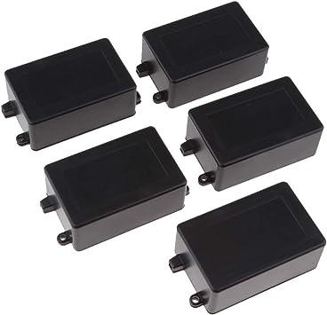 freneci 5x Caja De Empalme De Caja De Bricolaje Electrónica De Aluminio Para Proyectos 45x29x70 Mm: Amazon.es: Bricolaje y herramientas