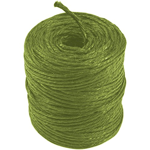 Ply 3 Hemp (Burlapfabric.com Apple Green Jute Twine 3-Ply 75 Yards)