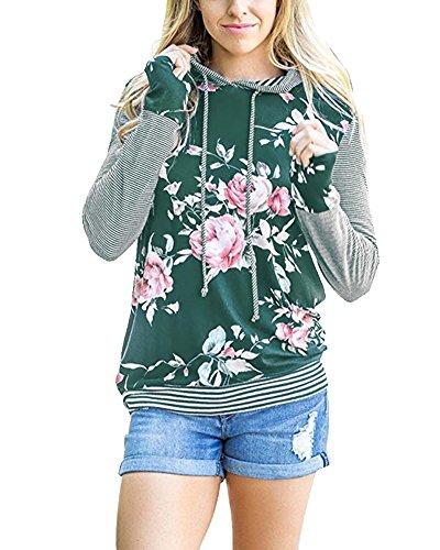 Green Hoody Sweatshirt - 8