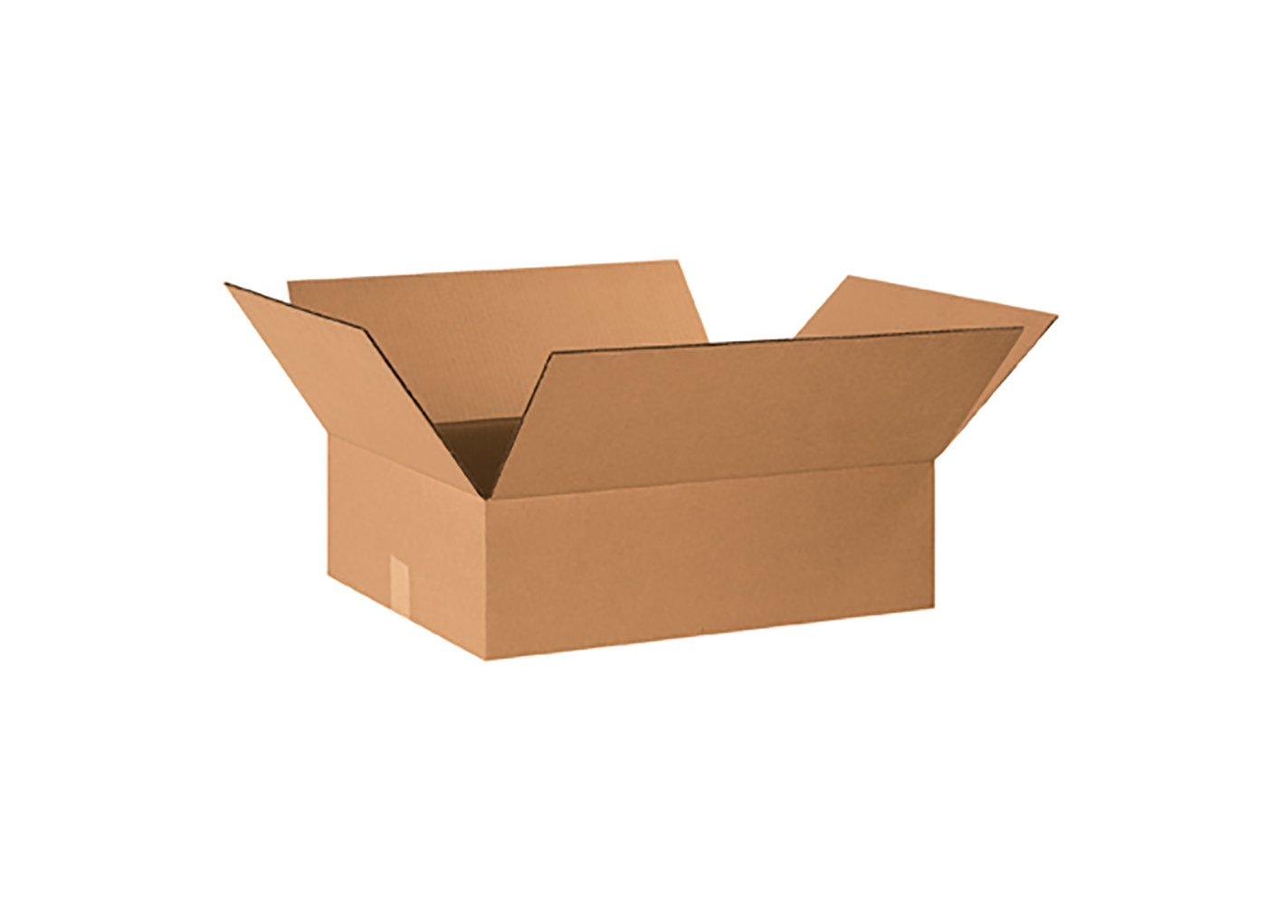 RetailSource B201606CB250 Corrugated Box, 6'' Height, 16'' Width, 20'' Length, Brown (Pack of 250)