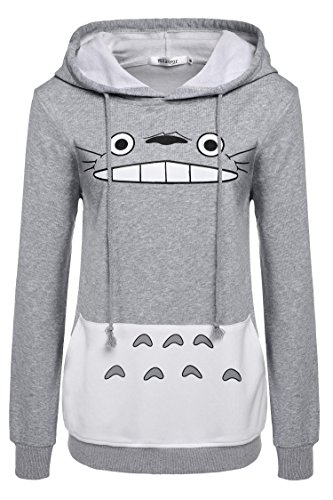 Meaneor Womens Sleeve Pullover Sweatshirt product image