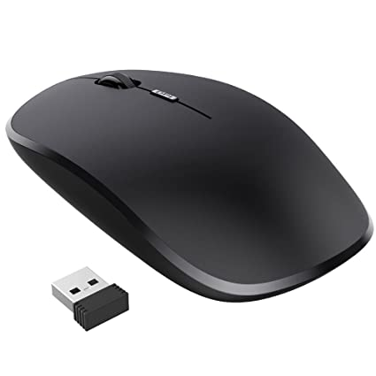 Amazon Nulaxy 24g Ergonomic Wireless Mouse Portable Mobile