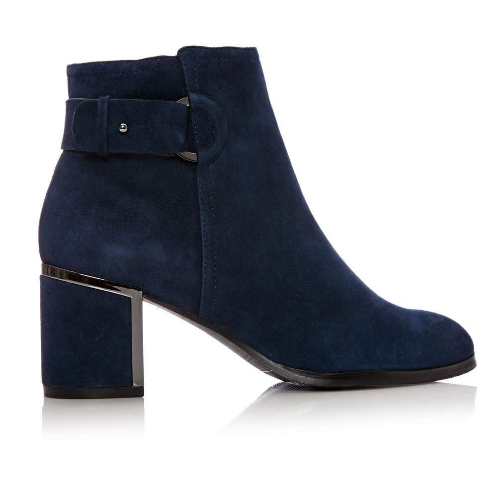 Moda in Pelle, Damen Stiefel & Stiefeletten Blau blau