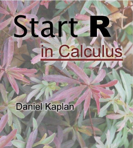 Start R in Calculus