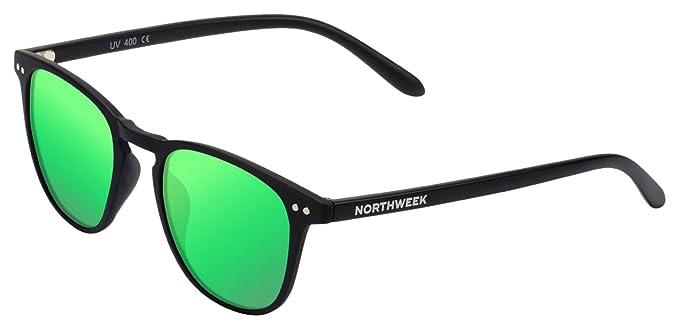 Lunettes de soleil Northweek WALL tout noir   lentille verte polarisée 5b17e1a341d2