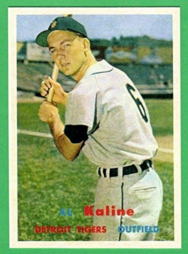 Al Kaline 1957 Topps Baseball Reprint Card (Tigers) (Tigers 2015 Cards Baseball)