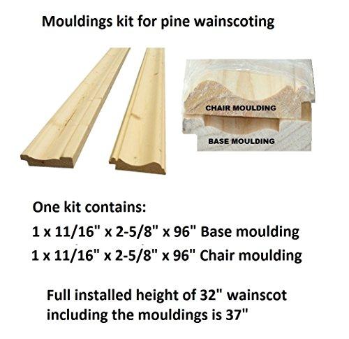 Allwood Pine moulding kit