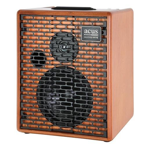 Acus Sound Engineering 03000603 OneforStrings 6T Acoustic Guitar Amplifier - Wood by Acus Sound Engineering