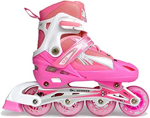 Details about  /Flashing Inline Skates with Protective Gear Set Roller Blades For Kids Men Women