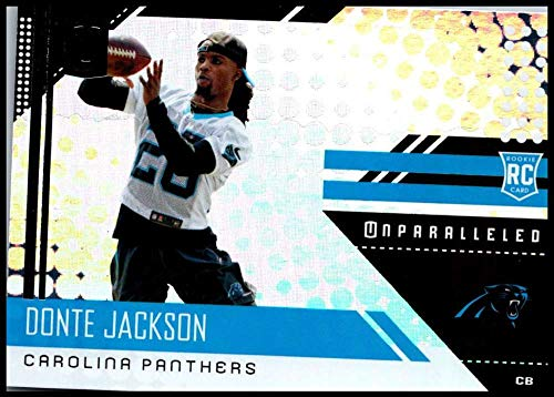 Amazon.com: 2018#291 Donte Jackson NM-MT RC Panthers ...