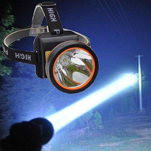Price comparison product image olidear LED Headlamp Torch Outdoor Rechargeable Headlight for Camping Hunting Fishing