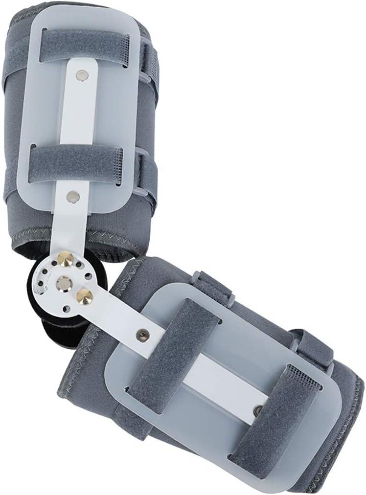 ROM Ajustable Codo articulado Soporte ortopédico Estabilizador de la ortesis Férula Brazo Soporte de recuperación de Lesiones Protector de fracturas Recuperación de Lesiones postoperatorias