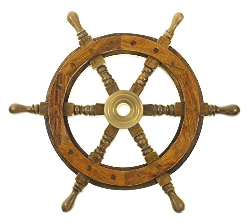 SAILORS SPECIAL SH 8760 Ship Wheel 12 inch, 12
